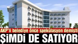 AKP'li belediye huzurevini satıyor